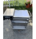 Sink Char Broil, Outdoor Stanless Steel With Umbrella Holder And Storage