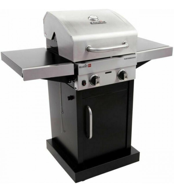 Char-Broil Performance Stainless Steel TRU-Infrared 2-Burner Gas Grill - Silver