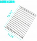 Grill Cooking Grates Replacement 2-Pack for Weber Genesis II LX 300 E-340 S-310