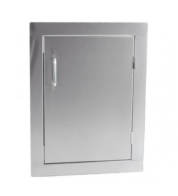 ProFire 14 X 20-Inch Right-Hinged Single Access Door - Vertical