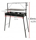 Portable Charcoal Grill, XL Size, Steel Rods Style, XMD