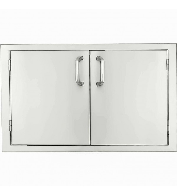 BBQGuys Signature Series 27-Inch Stainless Steel Double Access Door